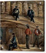 Gunners Of The Royal Regiment Acrylic Print