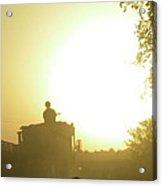 Guntruck At Sunset Acrylic Print by Bob Weibler
