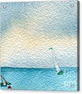 Gust Acrylic Print