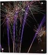 Guy Fawkes Night At Gloucester Quay Acrylic Print