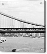 Manhattan Bridge Span Acrylic Print