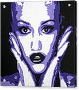 Gwen Stefani Acrylic Print by Venus