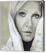 Gwyneth Paltrow Acrylic Print