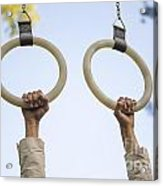 Gymnastic Rings Acrylic Print