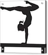 Gymnastics Acrylic Print