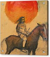 Gypsi Indian Acrylic Print