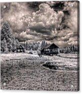 Gypsy Bay Road Lumber Mill 1 Acrylic Print