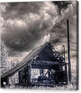 Gypsy Bay Road Lumber Mill 3 Acrylic Print