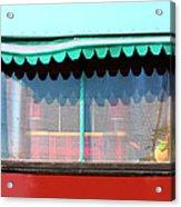 Gypsy Caravan Palm Springs Acrylic Print