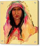 Gypsy Girl Acrylic Print by Johanna Elik