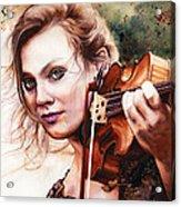 Gypsy In My Soul Acrylic Print