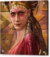 Gypsy Woman Acrylic Print by Ciro Marchetti