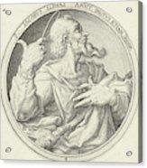 H James The Less, Zacharias Dolendo, Jacob De Gheyn II Acrylic Print
