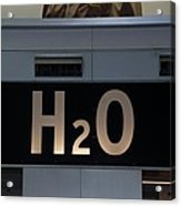 H2O Acrylic Print