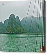 Ha Long Bay's Limestone Islands-vietnam Acrylic Print