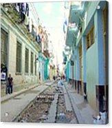 Habana Street Acrylic Print