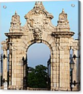 Habsburg Gate In Budapest Acrylic Print