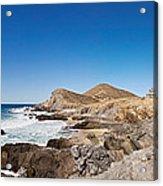 Hacienda Cerritos On The Pacific Ocean Acrylic Print