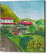 Hacienda Gripinas Old Coffee Plantation Acrylic Print
