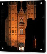 Hadleigh Deanery By Night Acrylic Print