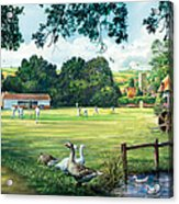 Hadlow Cricket Club Acrylic Print