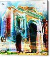 Hadrians Arch Acrylic Print