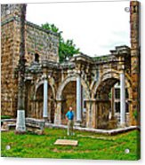 Hadrian's Gate In Antalya-turkey Acrylic Print