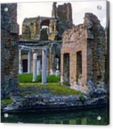 Hadrian's Villa Acrylic Print