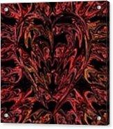Haemorrhage  Acrylic Print by Anthony Bean