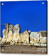 Hagar Qim Stone Temple, Malta Acrylic Print