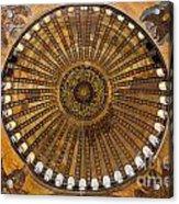 Hagia Sofia Ceiling Acrylic Print