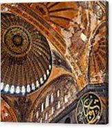 Hagia Sofia Interior 01 Acrylic Print