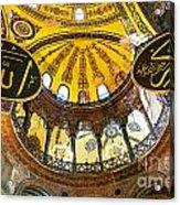 Hagia Sofia Interior 07 Acrylic Print