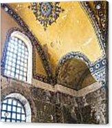 Hagia Sofia Interior 14 Acrylic Print