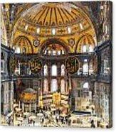 Hagia Sofia Interior 35 Acrylic Print