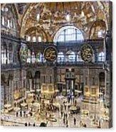 Hagia Sofia Interior 42 Acrylic Print