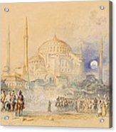 Hagia Sofia Acrylic Print by Joseph Mallord William Turner