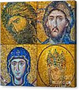 Hagia Sofia Mosaics Acrylic Print