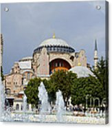 Hagia Sofia Acrylic Print