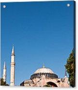 Hagia Sophia Blue Sky 02 Acrylic Print