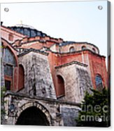 Hagia Sophia Buttresses Acrylic Print
