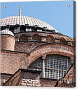 Hagia Sophia Curves 01 Acrylic Print