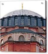 Hagia Sophia Curves 02 Acrylic Print
