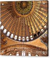 Hagia Sophia Dome 02 Acrylic Print