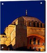 Hagia Sophia Evening Acrylic Print