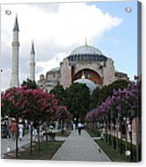 Hagia Sophia I - Istanbul - Turkey Acrylic Print