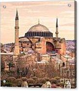 Hagia Sophia Mosque - Istanbul Acrylic Print