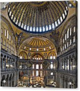 Hagia Sophia Museum In Istanbul Turkey Acrylic Print