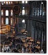 Hagia Sophia Panorama Acrylic Print