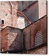 Hagia Sophia Walls 02 Acrylic Print